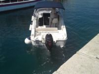 Motorboat Saver 590 for hire
