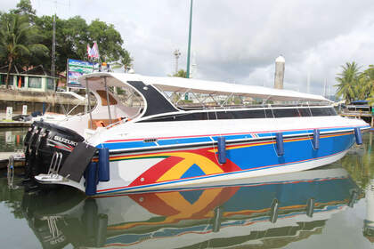 Charter Motorboat Custom Tripple Engine 750 Phuket