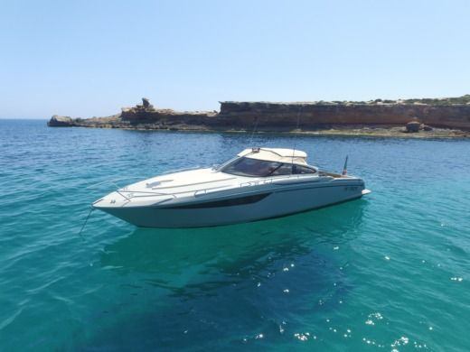 Baia One 43 in Ibiza for hire