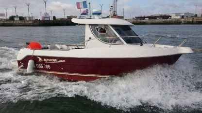 Charter Motorboat Arvor 230 As Dunkirk