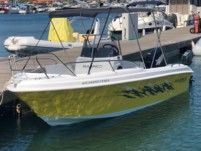 Charter motorboat in Chalkidiki