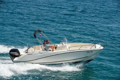 Miete Motorboot QUICKSILVER 675 Open Trogir
