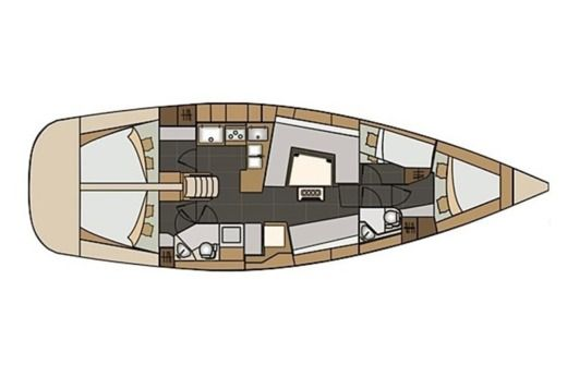 Elan Impression 45 in Trogir