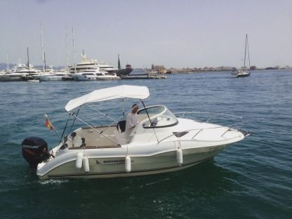 Charter Motorboat Quicksilver 620 Cruiser Palma