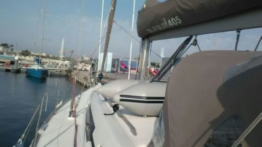 Dufour 405 Grand Large in Valencia for hire