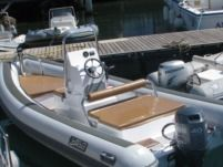 RIB Sea Water Smeraldo 550 for rental