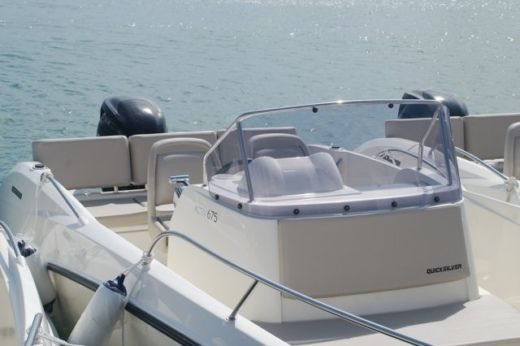 Quicksilver 675 Open ACTIV in Marseille for hire