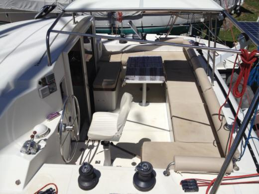 Catamaran OUTREMER 45 entre particuliers