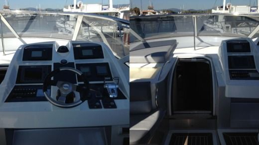 Motorboat Numarine 52 peer-to-peer