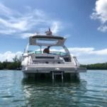Rental motorboat in Aventura