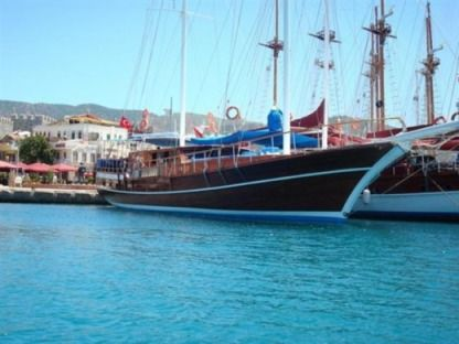 Charter Sailboat Custom Build 2001 Fethiye