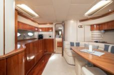 Motorboat Princess V55 for rental