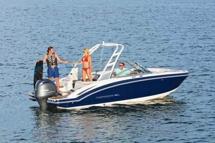 Rental Motorboat CHAPARRAL SUNCOAST 230 San Antonio Abad