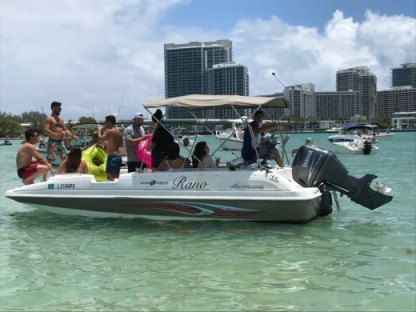 Rental Motorboat Hurricane 201 Sunny Isles Beach