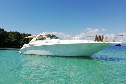 Miete Motorboot SEA RAY Sundancer 450 Chalkidiki