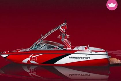Charter Motorboat MASTERCRAFT X15 Page
