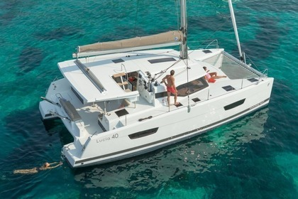 Location Catamaran FOUNTAINE PAJOT LUCIA 40 Palamós