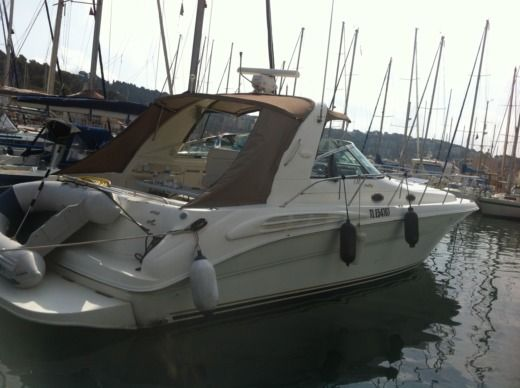 Motorboat Sea Ray 400 Sundancer for hire