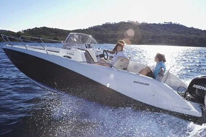 Charter Motorboat QUICKSILVER 605 Sundeck Mallorca