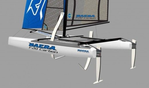 Catamaran Nacra F20 FCS peer-to-peer