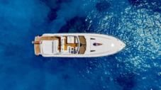Princess V55 in Zakinthos for rental