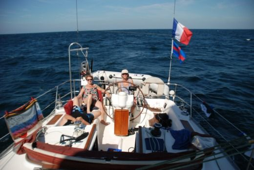Charter sailboat in Dinard peer-to-peer