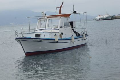 Hire Motorboat Typical Greek Boat Corfu