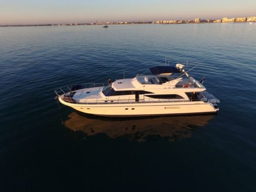 Charter Motorboat Guy Couach 2100 Fly Ajaccio