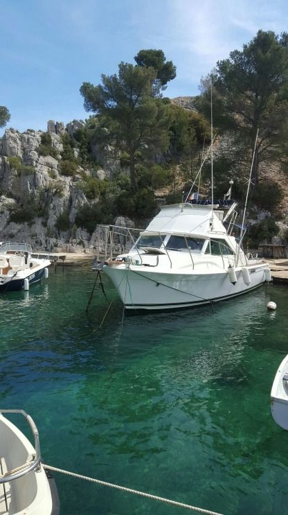 Miete Motorboot Chris Craft Vedette 31 Commander La Seyne-sur-Mer