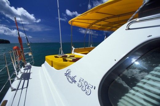Catamaran ALLIAURA PRIVILEGE 585 for hire