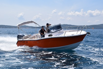 Hire Motorboat Focus 23 Bibinje