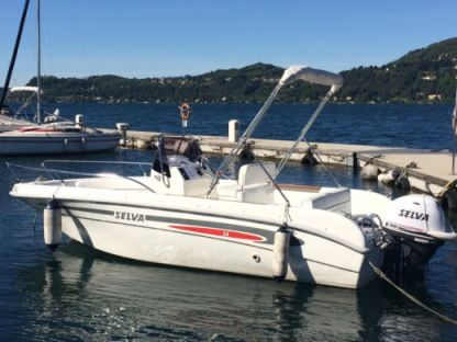 Charter Motorboat Selva Open 5.6 Ranco