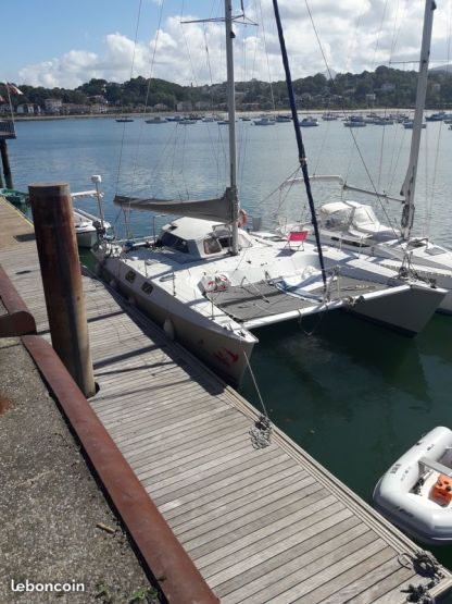 Charter Catamaran Fountaine Pajot Louisianne Hendaye