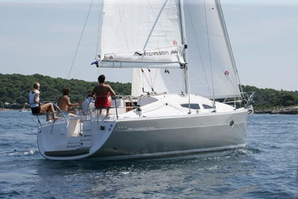 Rental Sailboat ELAN 344 Impression Betina