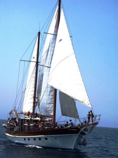 Sailboat Turkish Gulet Motor Sailing Yacht