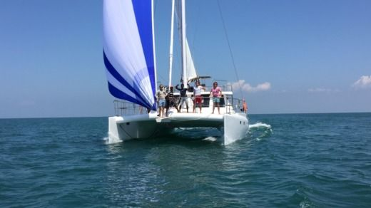 Catamaran Jade 52' Feet a Trinquemalay da noleggiare