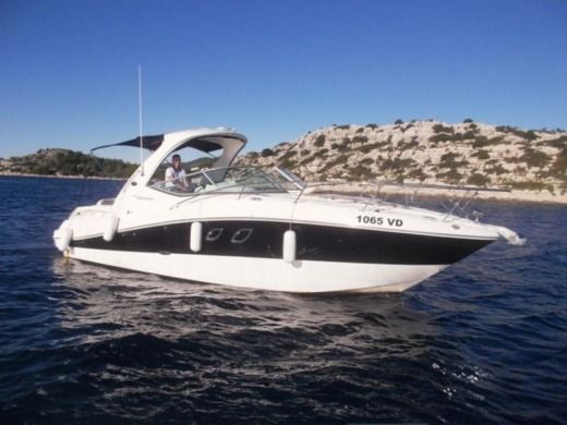 Charter Motorboat Sea Ray 335 Sundancer Tribunj