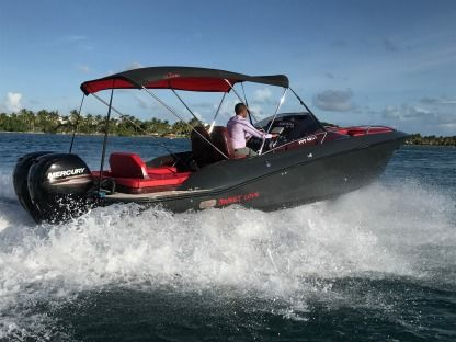 Rental Motorboat Clear Libra Cabin Pointe-a-Pitre