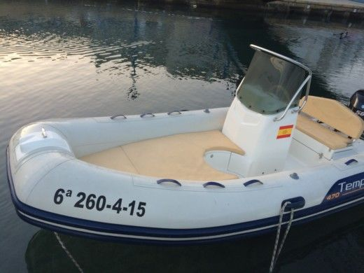 RIB 2015 Capelli Tempest 470 for hire