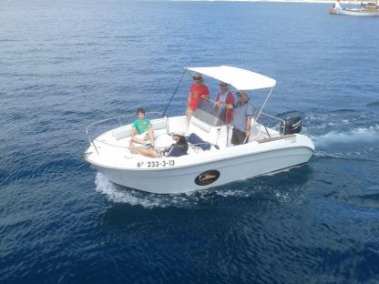 Charter Motorboat Astec 540 Open Begur
