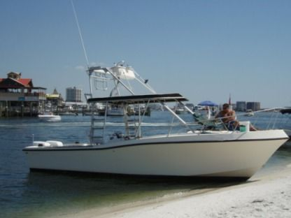 Rental Motorboat Mako 285 Ibiza