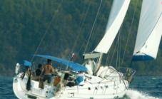 Charter sailboat in Rodney Bay