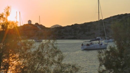 Charter sailboat in Kalimnos peer-to-peer