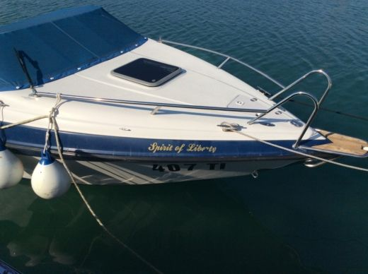 Rental motorboat in Tisno