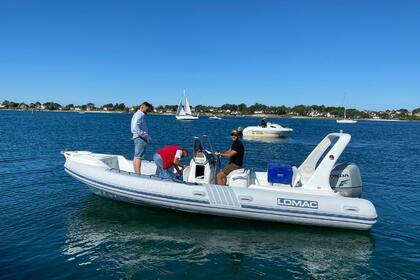 Hire RIB Lomac Lomac 6,75 Saint-Philibert