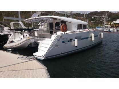 Location Catamaran Lagoon 400 S2 Martinique