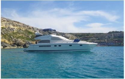 Charter Motorboat Fairline 52Ft Fly Bridge Ormos Panagias