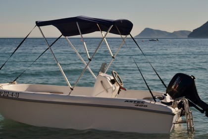 Rental Motorboat Astec 400 Carboneras