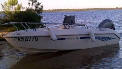 Rental Motorboat Aquamar 17 Lacanau