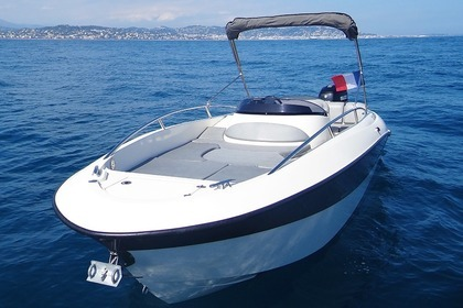 Rental Motorboat Clear Aquarius Open Mandelieu-La Napoule